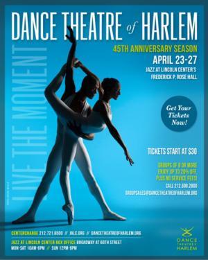 Dance Theatre of Harlem's 2014 NYC Season Celebrates 45 Years, Now thru 4/27