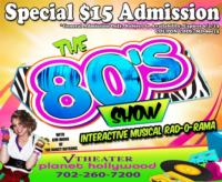 THE 80s SHOW Offers Special Mother's Day Prices thru 6/1