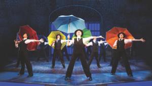 SINGIN' IN THE RAIN Begins at the Birmingham Hippodrome Tonight