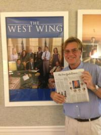 Playwright, Film and Television Writer Aaron Sorkin Joins Twitter!