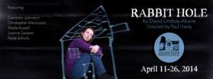 Alumnae Theatre Presents Season Finale RABBIT HOLE, Now thru 4/26
