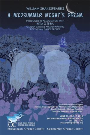 SOC Presents A MIDSUMMER NIGHT'S DREAM, 6/21-7/19
