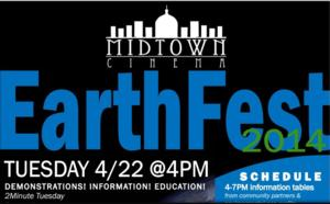 Midtown Cinema to Host FIRST ANNUAL EARTHFEST, 4/22
