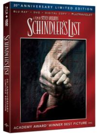 SCHINDLER'S LIST Coming to Blu-ray For First Time Ever, 3/5
