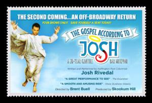 THE GOSPEL ACCORDING TO JOSH Comes to The Players Theatre Tonight