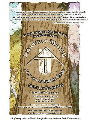 American Theatre of Actors Presents NORTH TO MAIN: A JOURNEY ON THE APPALACHIAN TRAIL, Now thru 8/3
