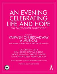 Joel Diamond to Direct Cancer Benefit Featuring YAHWEH ON BROADWAY, 11/29