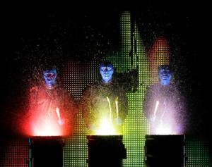BLUE MAN GROUP Comes to Raleigh