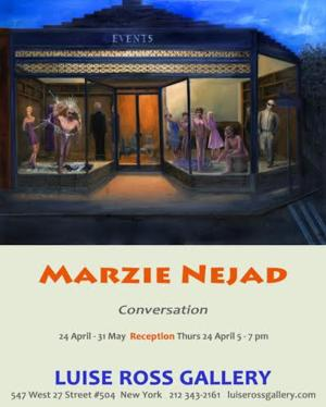 Luise Ross Gallery to Present MARZIE NEJAD: CONVERSATION, 4/24-5/31