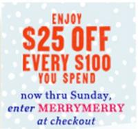 Daily Deal 12/15/12: Anthropologie