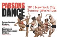 Parsons Dance Presents SUMMER INTENSIVE WORKSHOPS 6/3-21