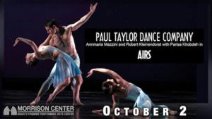 Morrison Center to Welcome Paul Taylor Dance Company and MOMIX REMIX: THE BEST OF MOMIX, Oct 2014 & Jan 2015