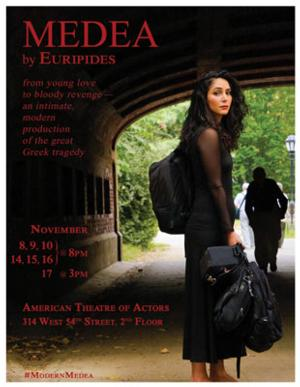 MEDEA Comes to Beckmann Theater, 11/8-17