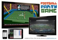 FootballPartyGame.com Offers Live Trivia Game Designed For Your Football Watch Party