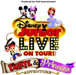 Disney Junior Live on Tour! Pirate & Princess Adventure Coming to Morris Performing Arts Center, 2/27