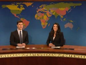 Highlights from SATURDAY NIGHT LIVE's WEEKEND UPDATE with Cecily Strong and Colin Jost, 5/10