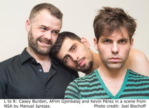 Manuel Igrejas' New Play NSA Premieres as Part of Stage Left's Left Out Festival Tonight