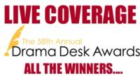 SPECIAL COVERAGE: All the 2013 Drama Desk Award Winners - MATILDA, VANYA AND SONIA, PIPPIN, VIRGINIA WOOLF and More!