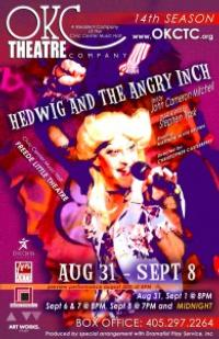 OKC Theatre Company Presents HEDWIG AND THE ANGRY INCH, Now thru 9/8