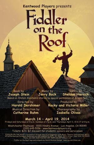 PHOTO FLASH: First Look at Kentwood Players' FIDDLER ON THE ROOF Opening 3/14