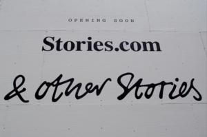 & Other Stories Signage Is Up in Soho