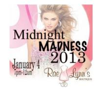 RaeLynn's Boutique Hosts Midnight Madness Prom Dress Sale