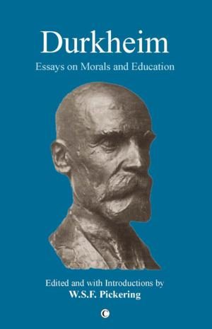 James Clarke and Co Ltd Releases DURKHEIM: ESSAYS ON MORALS AND EDUCATION