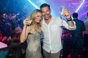 SIGHTING: Star LeAnn Rimes and Husband Eddie Cibrian Enjoying Night Out at Hakkasan