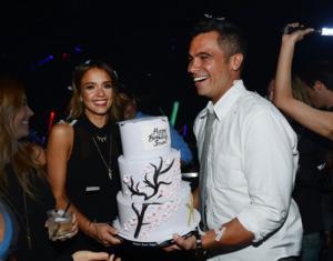 SIGHTING: Jessica Alba Celebrates Birthday at Hakkasan with Husband Cash Warren