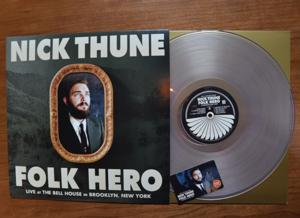 Nick Thune's FOLK HERO to be Released on Clear Vinyl, 6/24