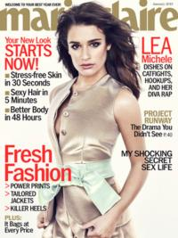 Lea Michele Denies Diva Rumors in MARIE CLAIRE Cover Story