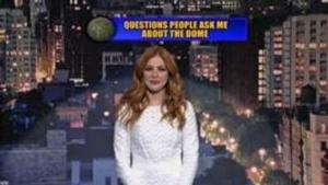 'Under the Dome's Rachelle Lefevre Reads LETTERMAN Top Ten