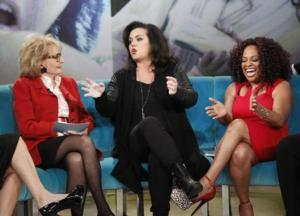 ABC Execs Luring Rosie O'Donnell Back to THE VIEW?