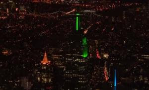 Empire State Building to Be Lit Up with LED Tower Light Shows 12/20-23