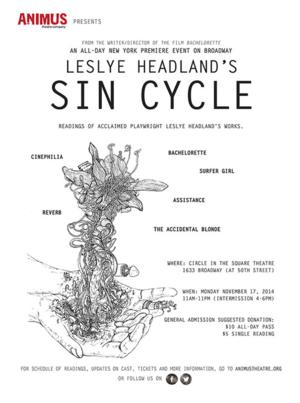 Animus Theatre Co. to Present Reading of Leslye Headland's SIN CYCLE, Nov 17 at Circle In The Square