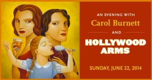 Carol Burnett and Carrie Hamilton's HOLLYWOOD ARMS Gets Tribute Reading at CTG, 6/22; Jason Alexander to Direct