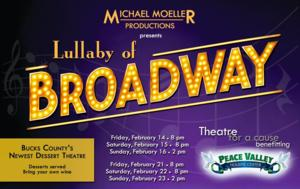 Michael Moeller Productions Presents 'Lullaby of Broadway' to Benefit Peace Valley Holistic Center of Chalfont, PA