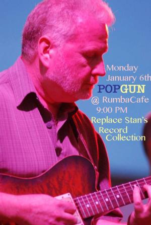 Popgun & Records Per Minute to Hold Event to Raise Money For Stan Smith, 1/13