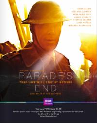 PARADE'S END Miniseries to Air on HBO, 2/26-28