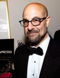 Stanley Tucci and Felicity Blunt Tie the Knot