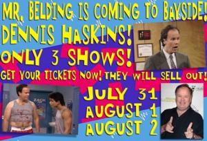 Dennis Haskins Joins Cast of BAYSIDE! THE MUSICAL!, Now thru 8/2