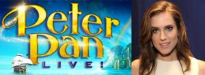 Breaking News: GIRLS Star Allison Williams Will Fly High as Title Character in NBC's PETER PAN LIVE! Special