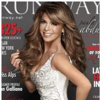 Paula Abdul Covers RUNWAY's Winter Issue