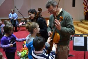 The Canton Symphony Orchestra Helps Improve Student's Conversation Skills with the SymphonyLand String Trio Program