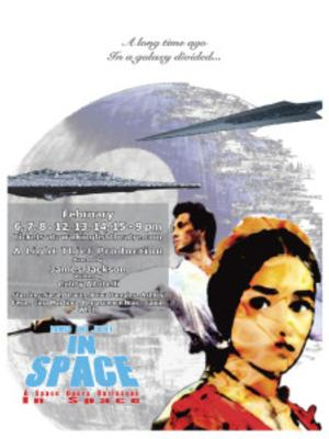 ROMEO & JULIET IN SPACE: A SPACE OPERA BURLESQUE in SPACE! Plays Walking Fish Theatre, 2/6-15