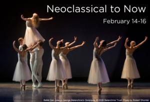 Ballet San Jose Opens 2014 Season with NEOCLASSICAL TO NOW, 2/14-16