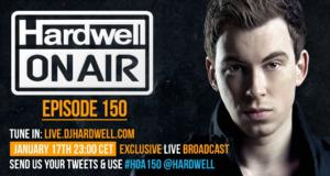 HARDWELL ON AIR 150th Episode to Premiere in Overover 20 Countries Today