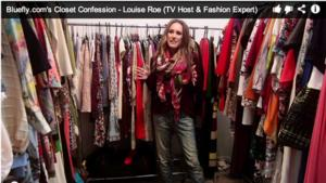 Fashion Host Louise Roe Shares Her Closet Confession on Bluefly