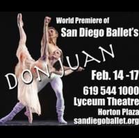 San Diego Ballet Company to Present DON JUAN, 2/14-17