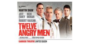 West End's TWELVE ANGRY MEN Extends Through 15 March